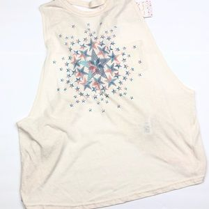 Free People Movement No Sweat Graphic Tank Top